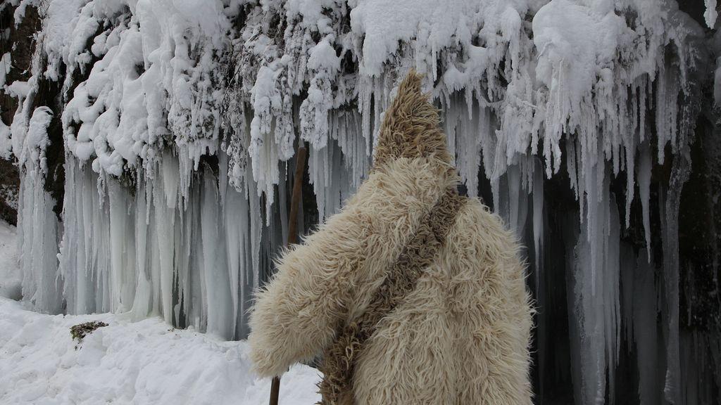 Frío helador en Kosovo