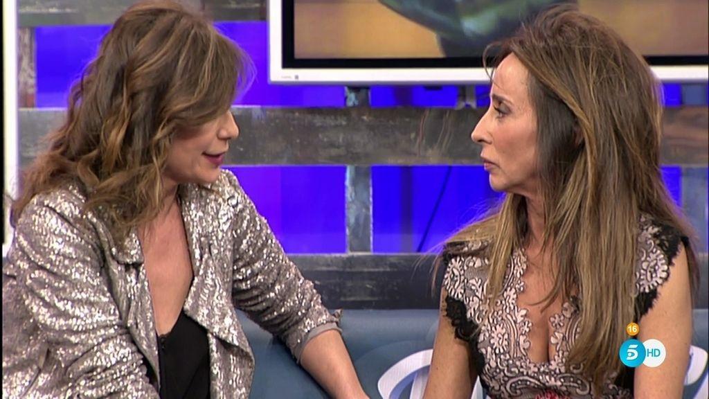 María Patiño emociona a Mila Ximénez y a Gema López con sus palabras