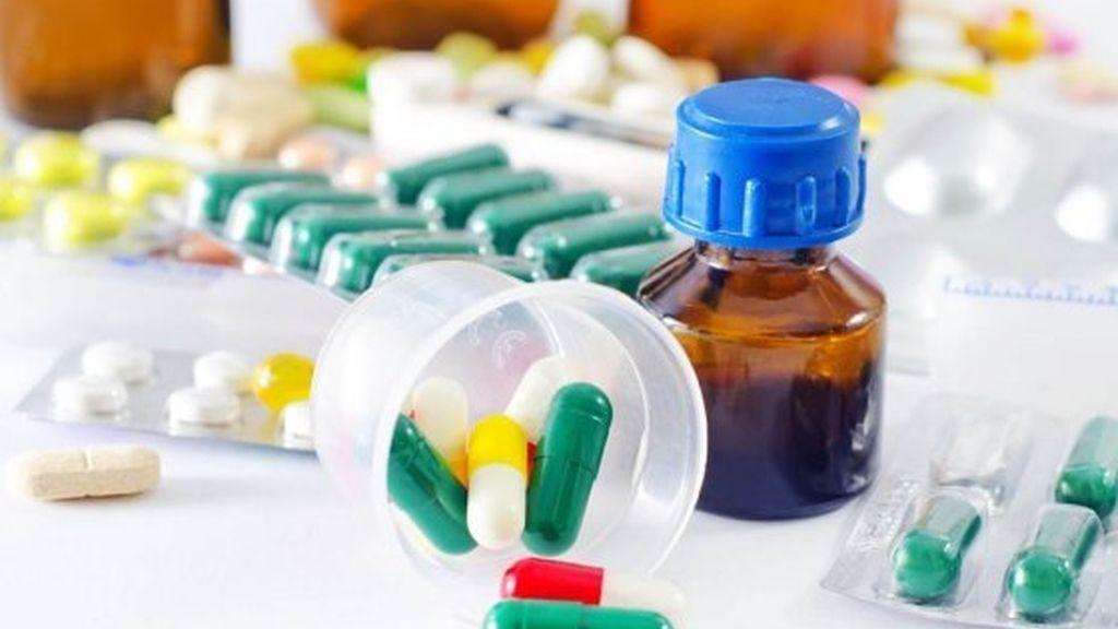 Medicamentos en una imagen de archivo