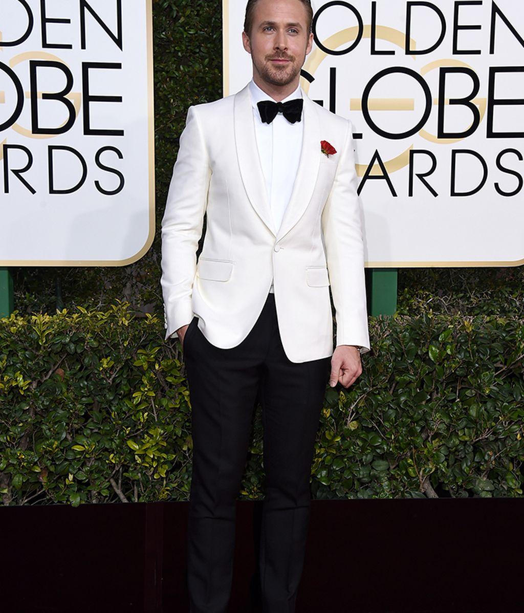 Ryan Gosling de Gucci y sin Eva Mendes