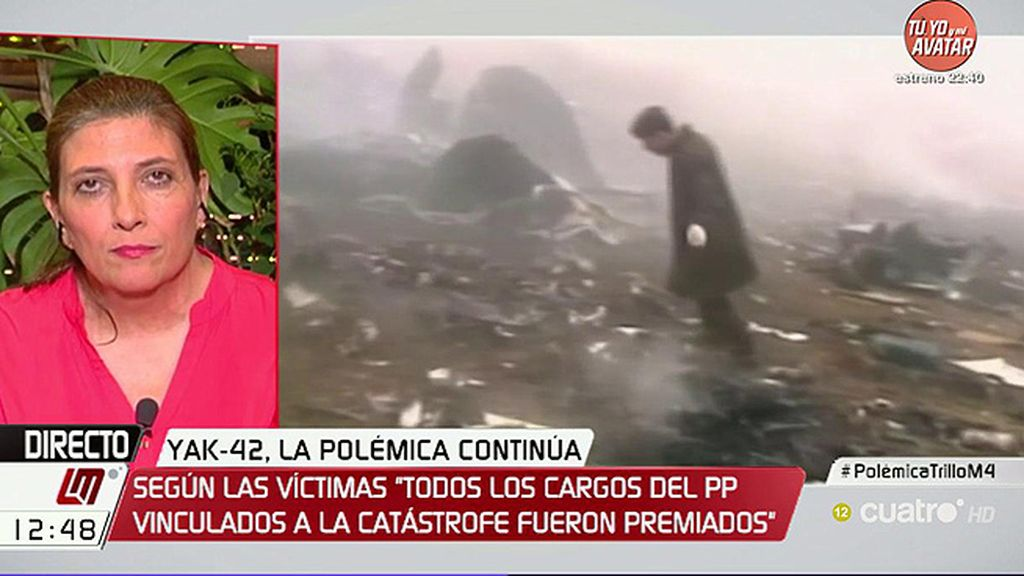 """Curra Ripollés: """"Con sus palabras, el ministro de Justicia nos vuelve a convertir en víctimas"""""""