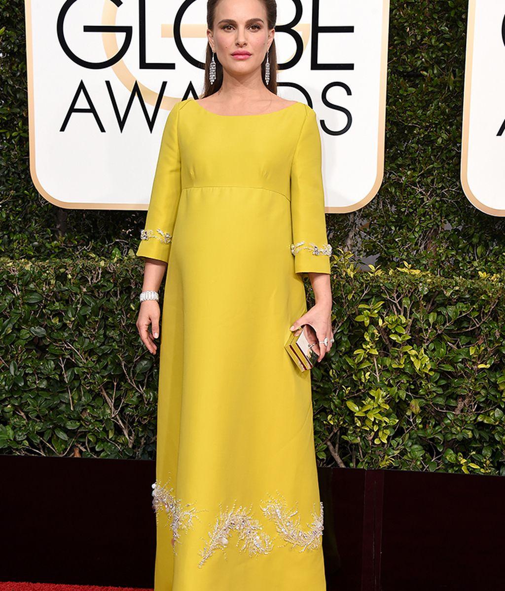 Natalie Portman vestida de Prada