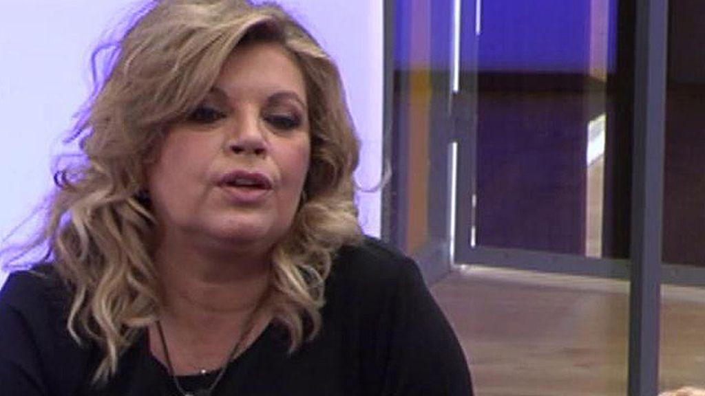 """Terelu Campos: """"Quiero mucho a Kike, pero creo que no soy una mujer para él"""""""