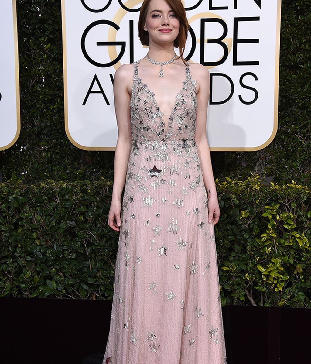 Emma Stone con vestido de Valentino