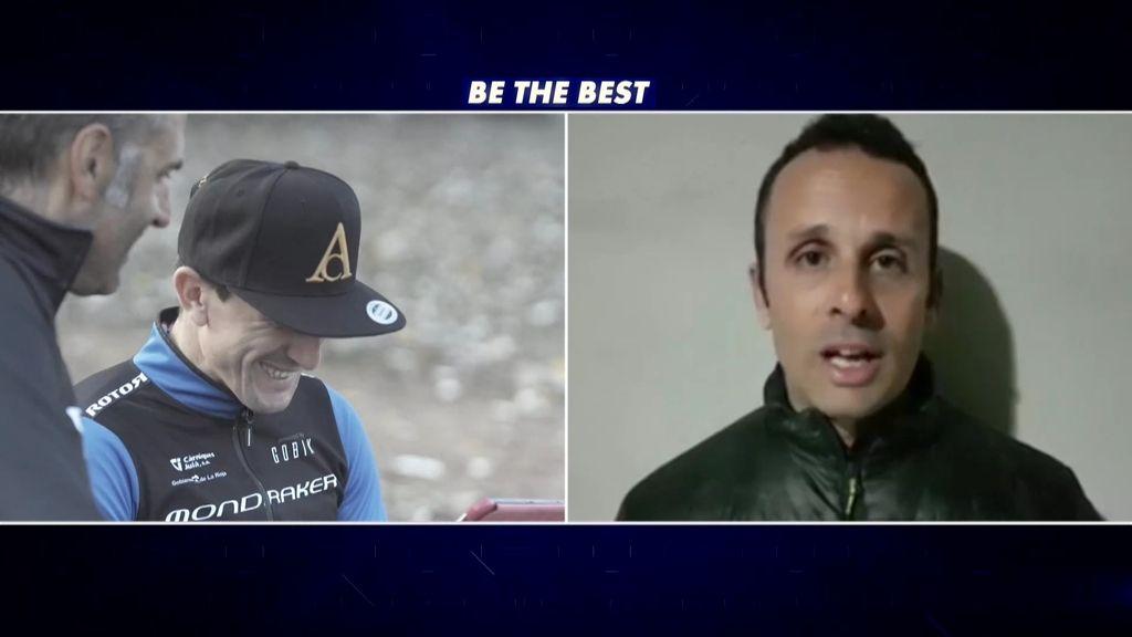 Carlos Coloma se emociona con el mensaje de su amigo y compañero José A. Hermida