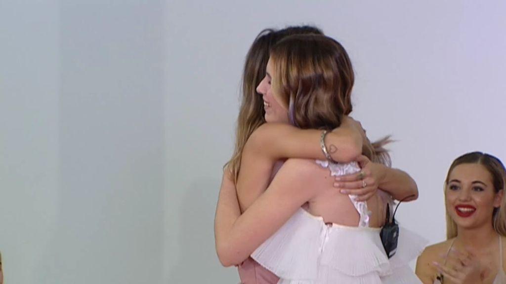 Susana y Casandra se reconcilian con un abrazo en la final de 'Quiero Ser'