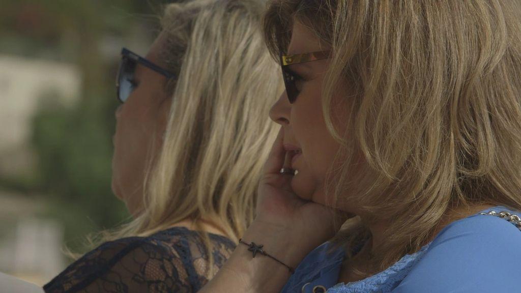 Terelu y Carmen se emocionan recordando a su padre antes de quitarse la vida