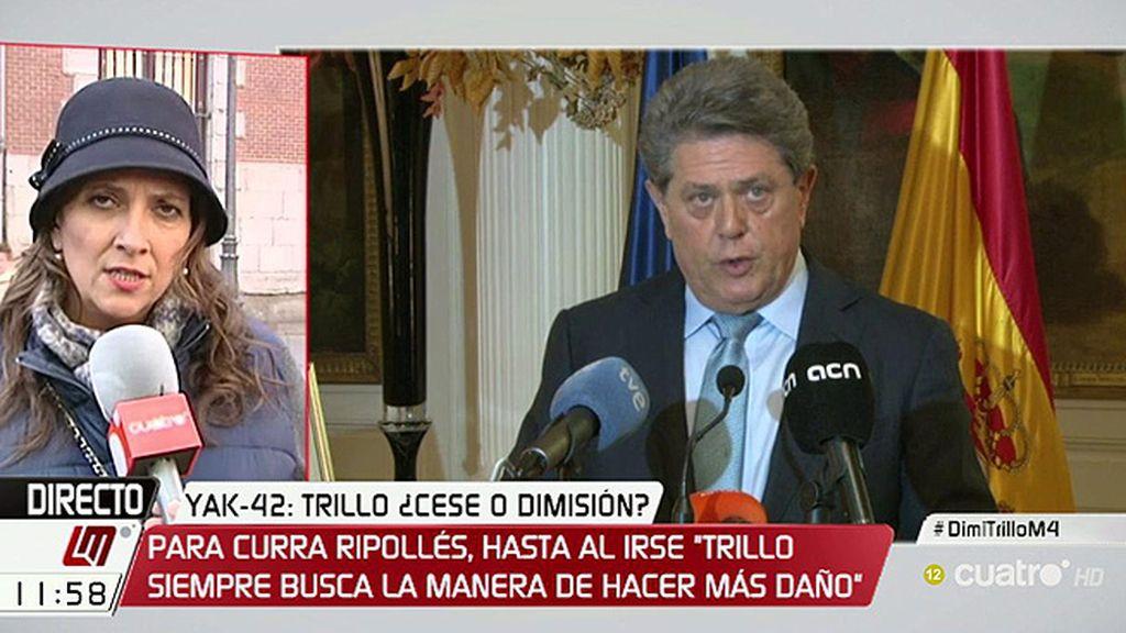 """Curra Ripollés, sobre los contratos: """"Esos documentos existen y tienen que aparecer"""""""
