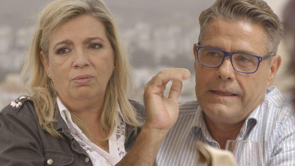 Carmen Borrego y su novio de la adolescencia que ahora… ¡es gay!