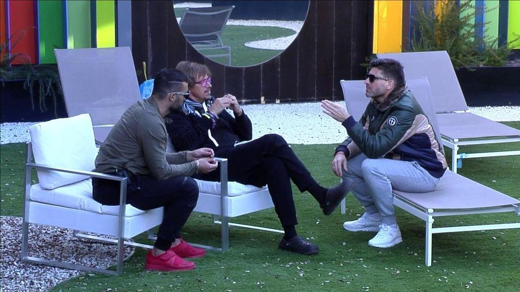 Toño, Alejandro y Tutto confabulan GH VIP