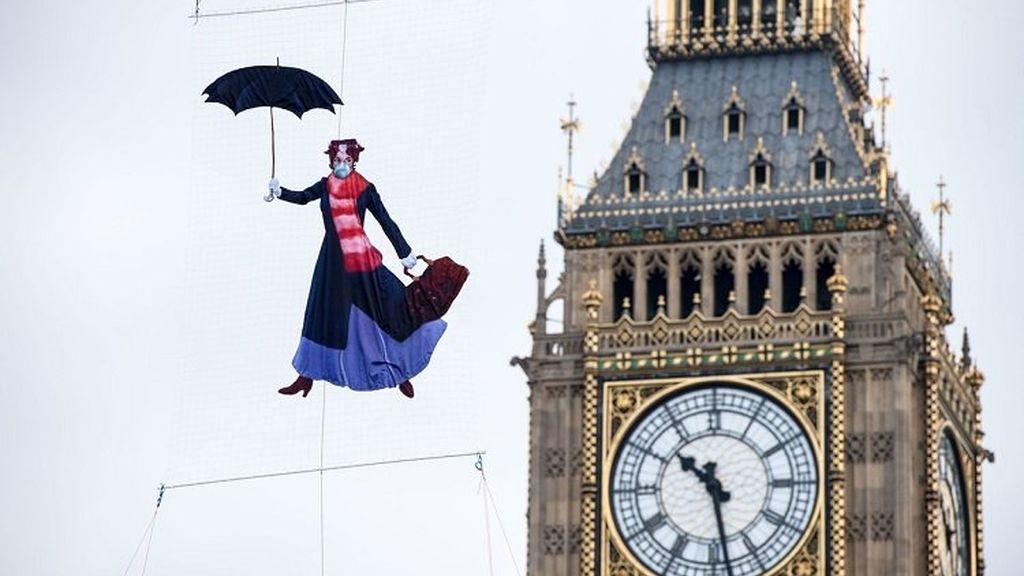 Greenpeace en Londres