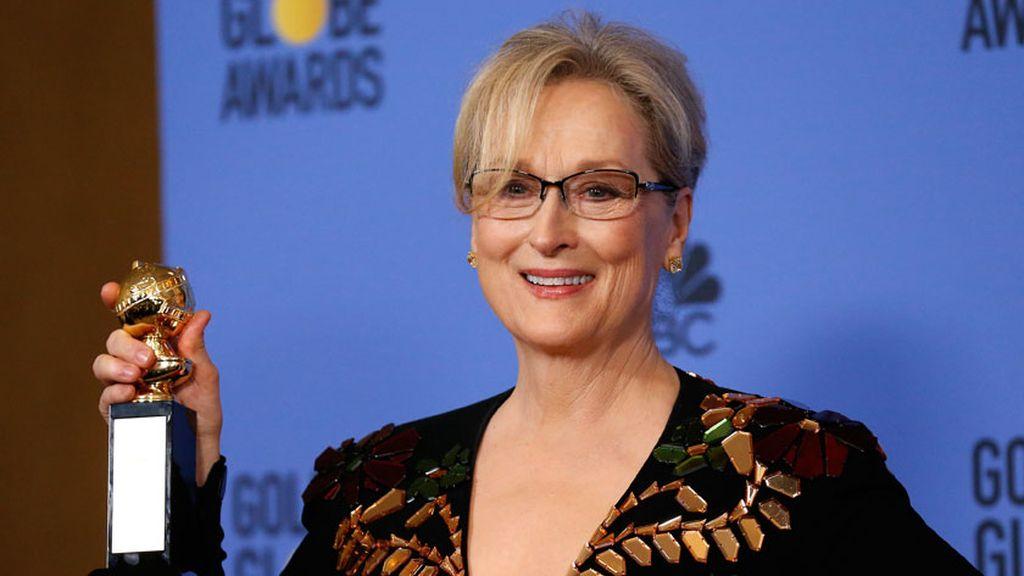 "El mensaje 'antiTrump' de Meryl Streep: ""La violencia incita a la violencia"""