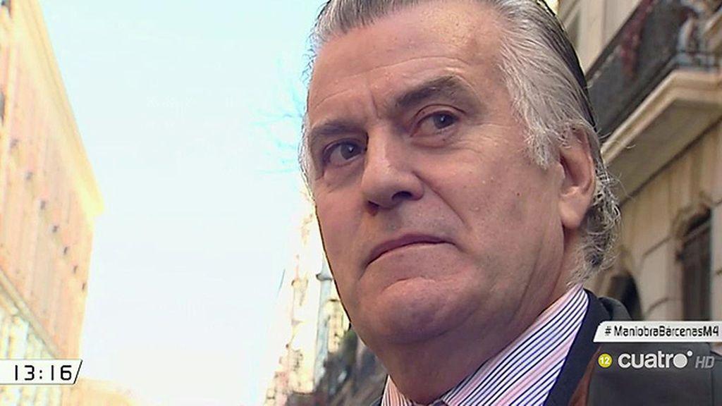 """Luis Bárcenas: """"El PP no tiene nada que ver con la trama Gürtel"""""""