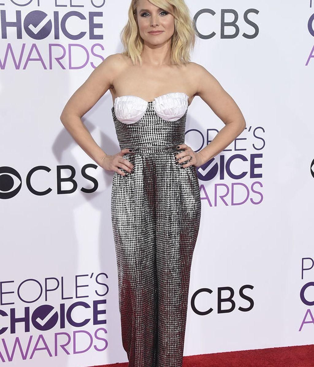 Kristen Bell recibió el premio a mejor actriz de serie nueva