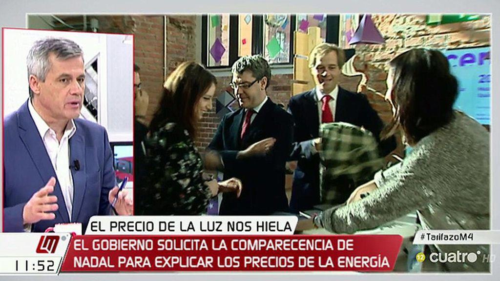 """David Lucas (PSOE), de la subida de la luz: """"Hay una opacidad espectacular"""""""