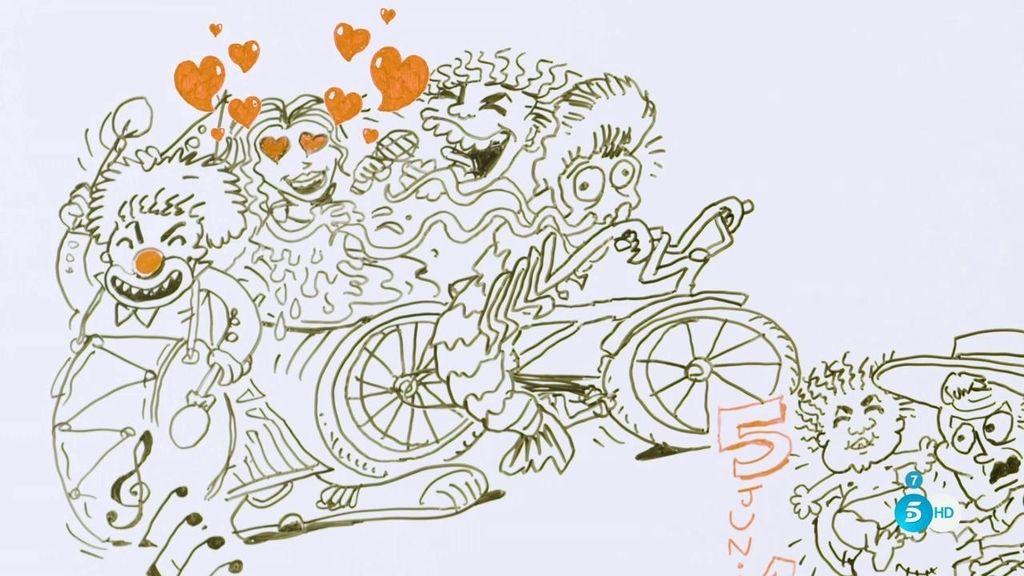 Su idea de entrar en 'GH' y otros secretos, en el dibujo de la vida de Bisbal