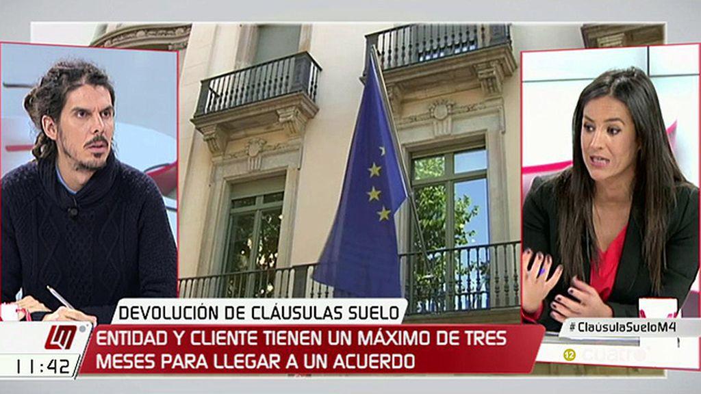 """Alberto Rodríguez (Podemos): """"El PP, con su socio, está buscando subterfugios para ayudar a la banca"""""""