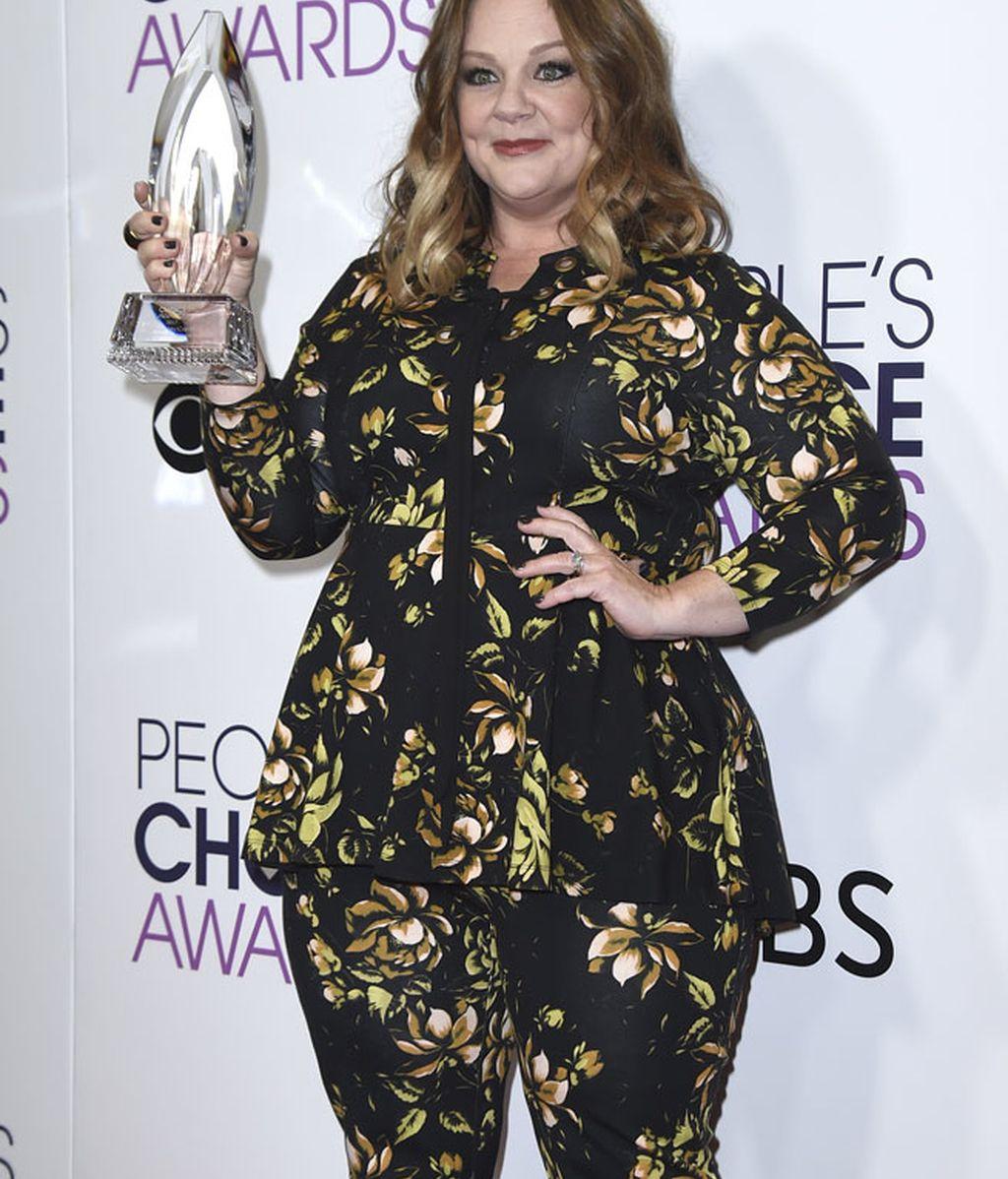 Melissa McCarthy recibió el premio a la actriz favorita en película de comedia