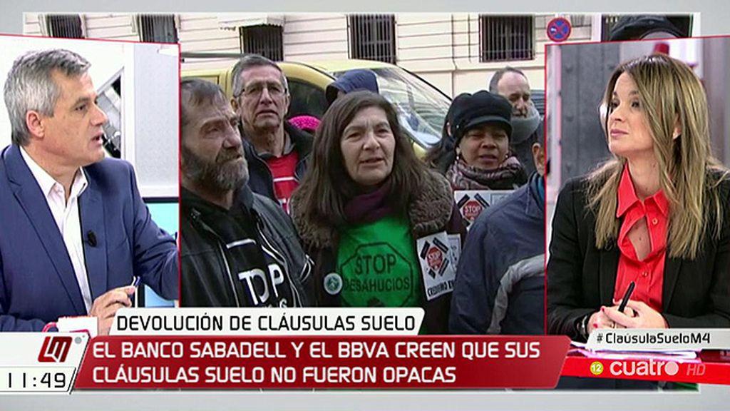 """Marga Prohens (PP), sobre las cláusulas suelo: """"Se va a cumplir la sentencia y va a haber una devolución del dinero"""""""