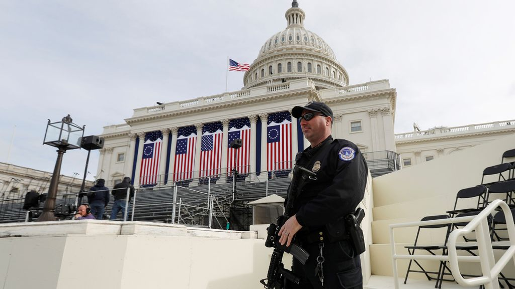 Washington se blinda ante la toma de posesión de Trump