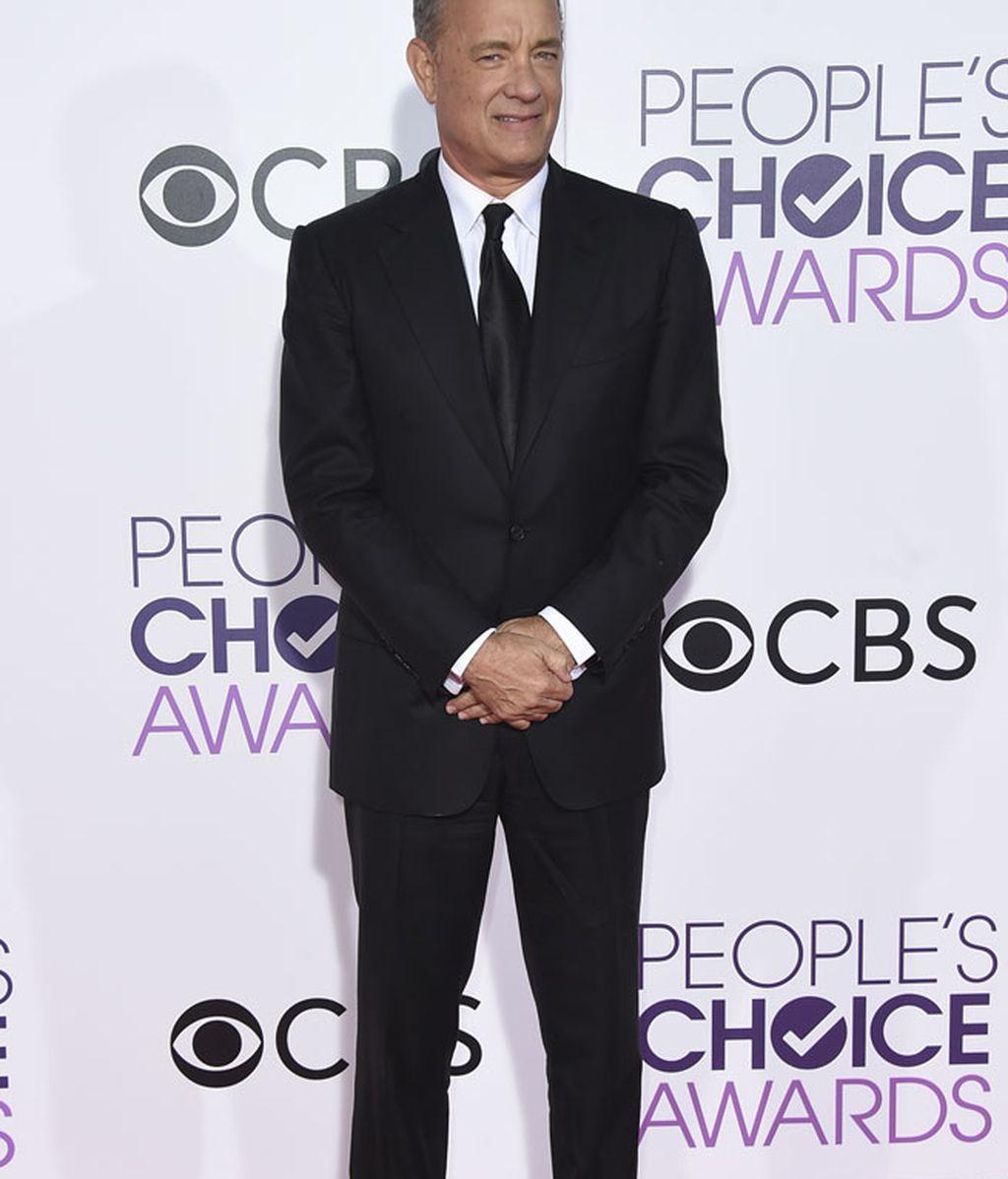 Tom Hanks reicibió el premio del público a mejor actor dramático de cine