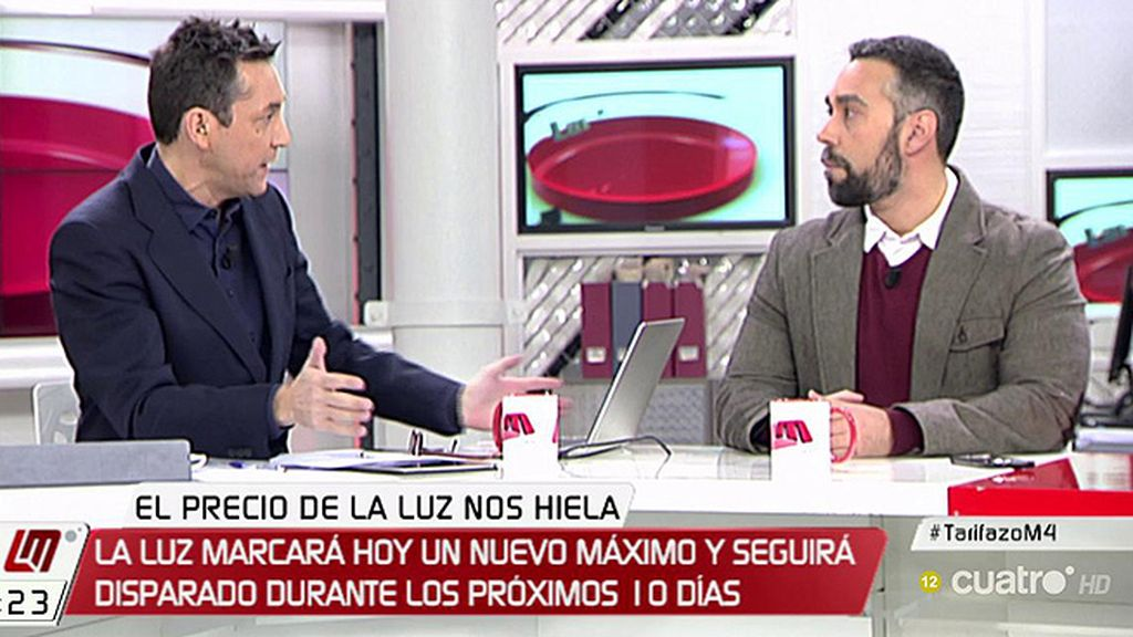 """R.Sanchez (FACUA): """"Es el mercado el que tiene intervenido y secuestrado al Gobierno"""""""