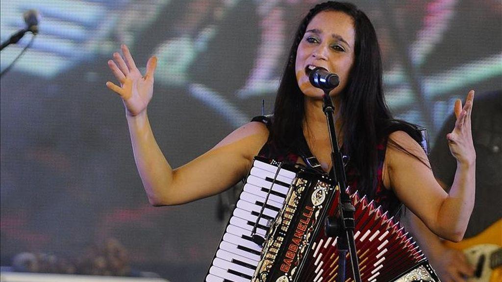 La cantante mexicana Julieta Venegas. EFE/Archivo