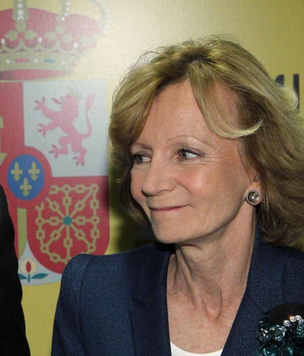 La vicepresidenta segundo, Elena Salgado. EFE/Archivo