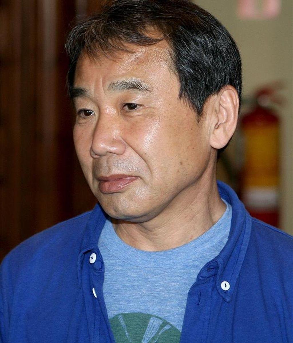 El escritor japonés Haruki Murakami. EFE/Archivo