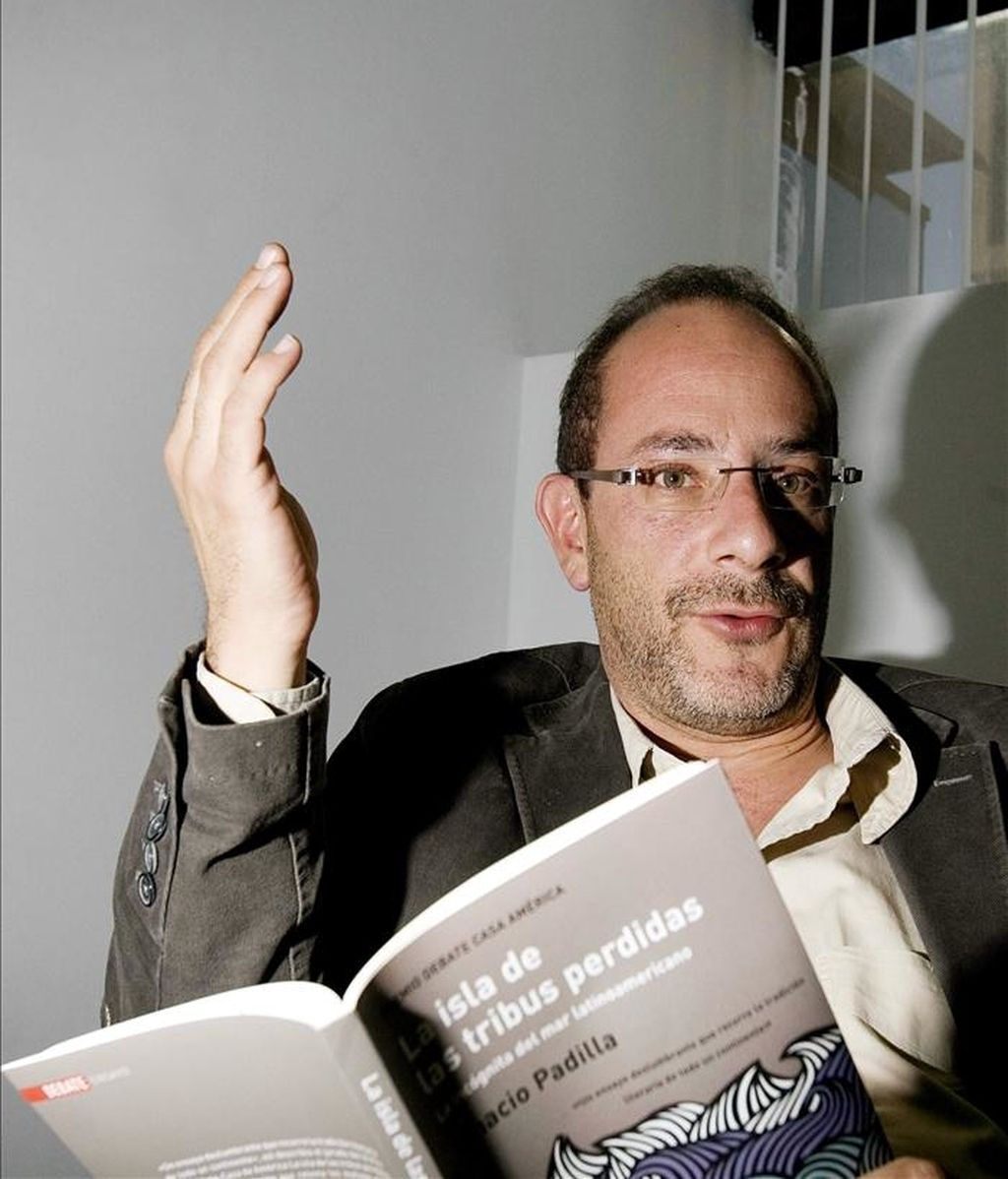 El escritor mexicano Ignacio Padilla. EFE/Archivo