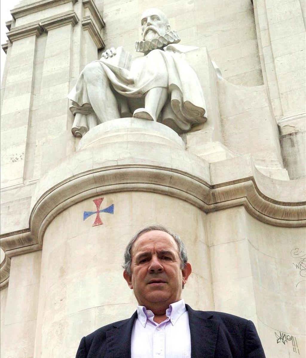 El estudioso y especialista en la obra de Miguel de Cervantes, César Brandariz. EFE/Archivo