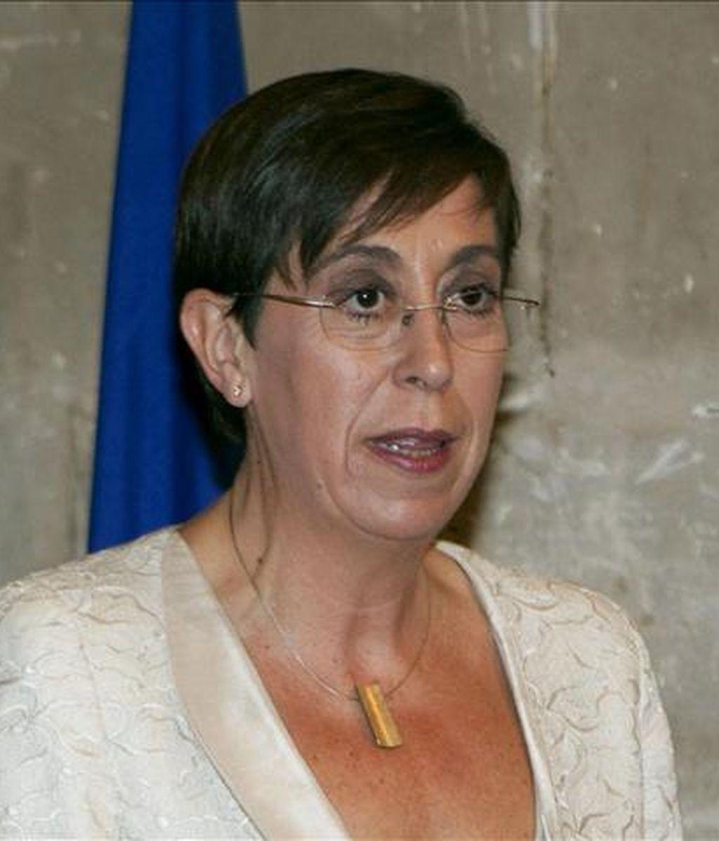 La consellera de Turismo y Trabajo, Joana Barceló. EFE/Archivo