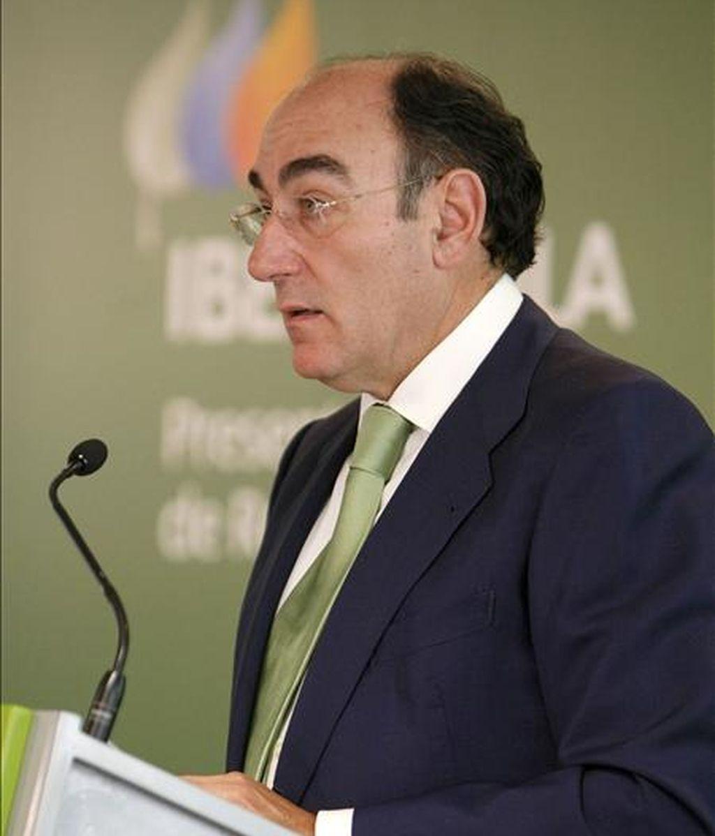 El presidente de Iberdrola, Ignacio Sánchez Galán. EFE/Archivo