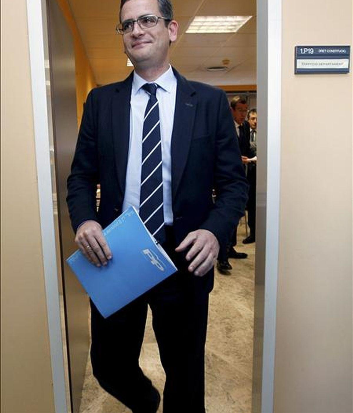 El presidente del PP del País Vasco, Antonio Basagoiti. EFE/Archivo