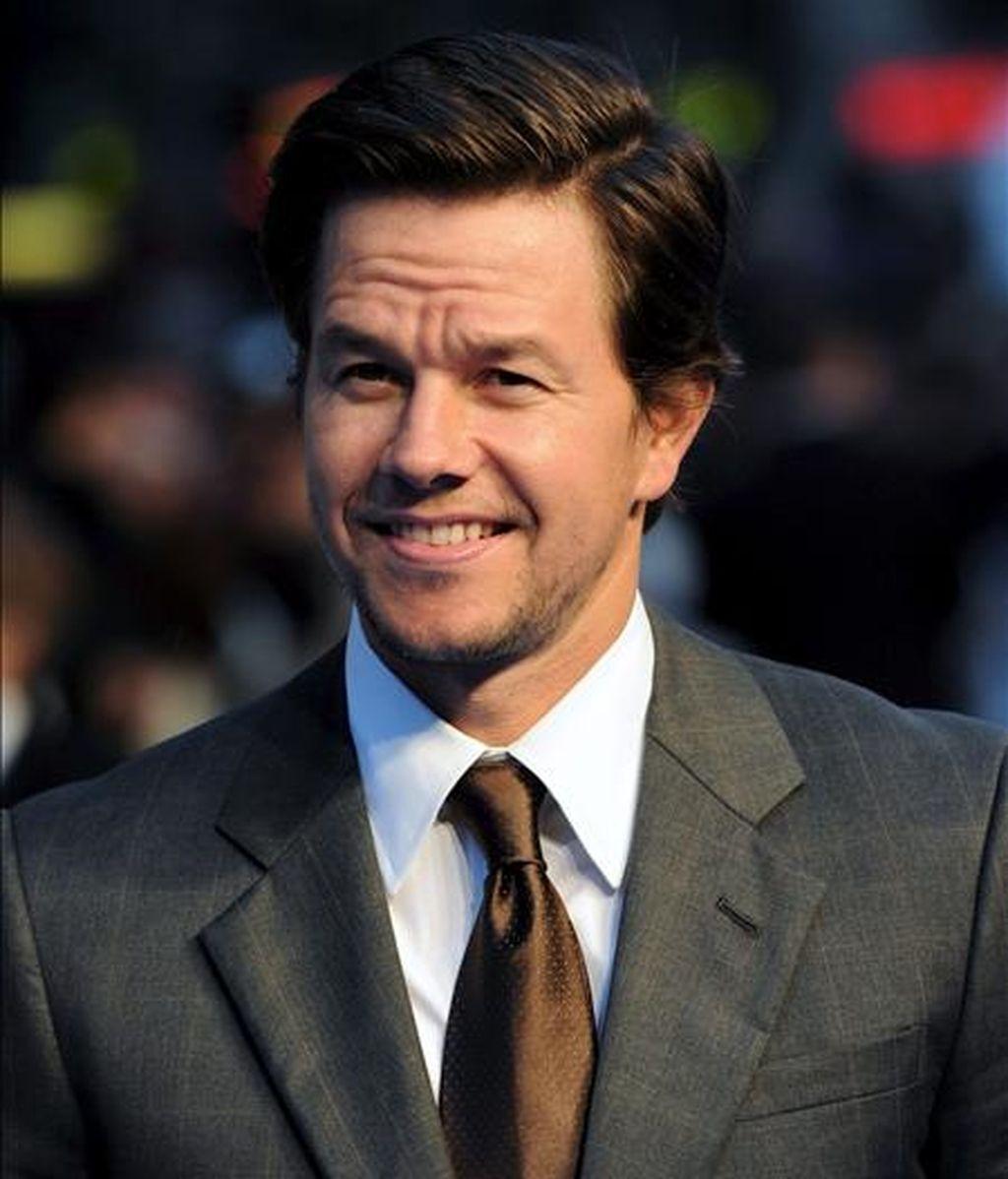 """El actor estadounidense Mark Wahlberg afirmó que """"(...) espero estar rodando este próximo verano"""".  EFE/Archivo"""