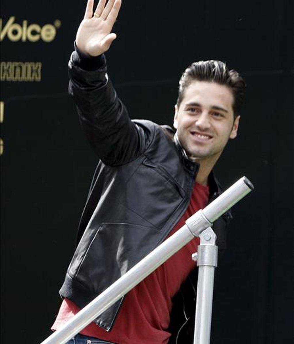 El cantante cántabro David Bustamante. EFE/Archivo