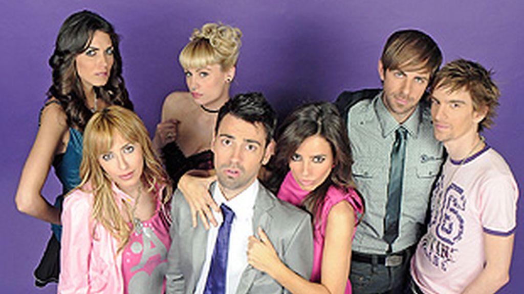 El elenco de la nueva 'SexoenChueca.com'