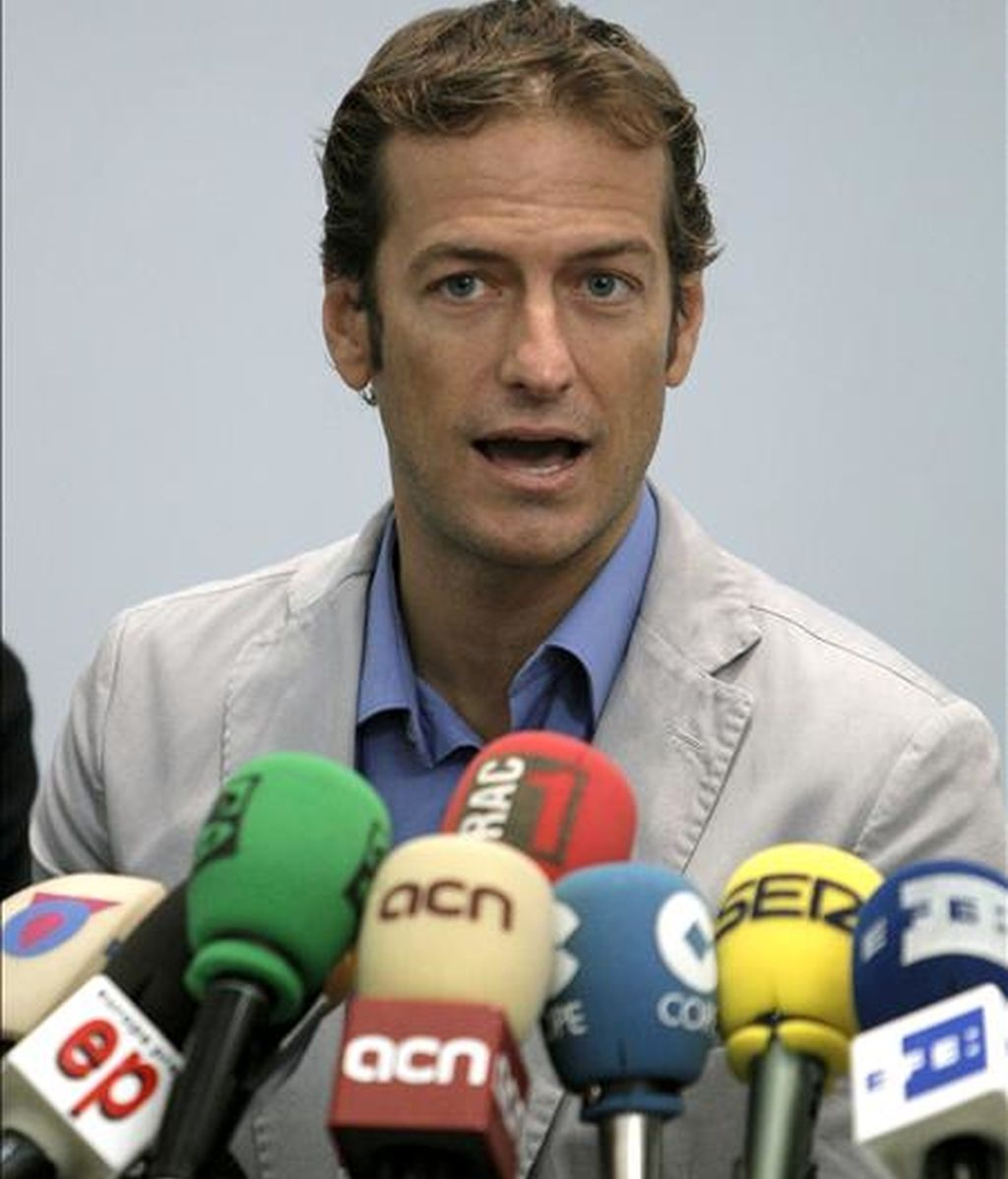 El secretario de Comunicación de la Unión Sindical de Controladores Aéreos (USCA), César Cabo. EFE/Archivo