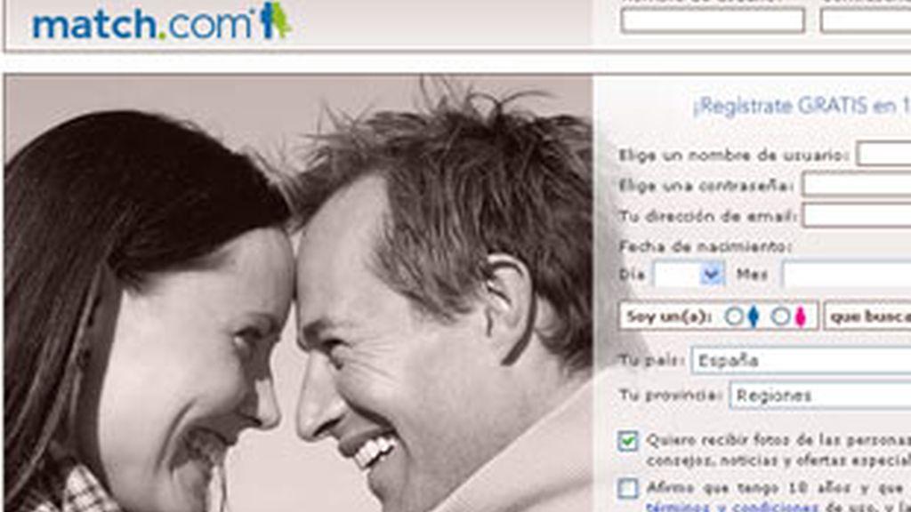 Match.com tiene más de 100  millones de miembros desde el 2000. Foto: Match.com