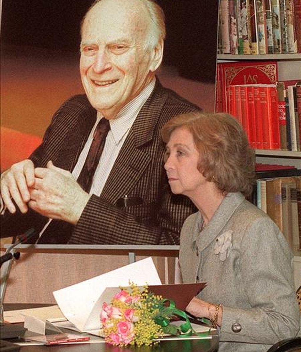 La Reina Doña Sofía preside una reunión del Patronato de la Fundación Yehudi Menuhin España. EFE/Archivo