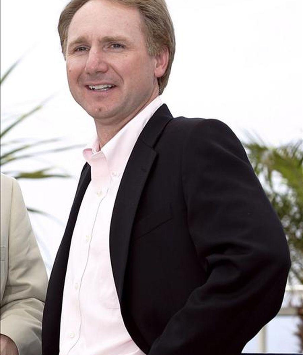 """El escritor estadounidense Dan Brown, autor de la novela """"El Código da Vinci"""" en la 59 edición del Festival de Cannes (Francia). EFE/Archivo"""