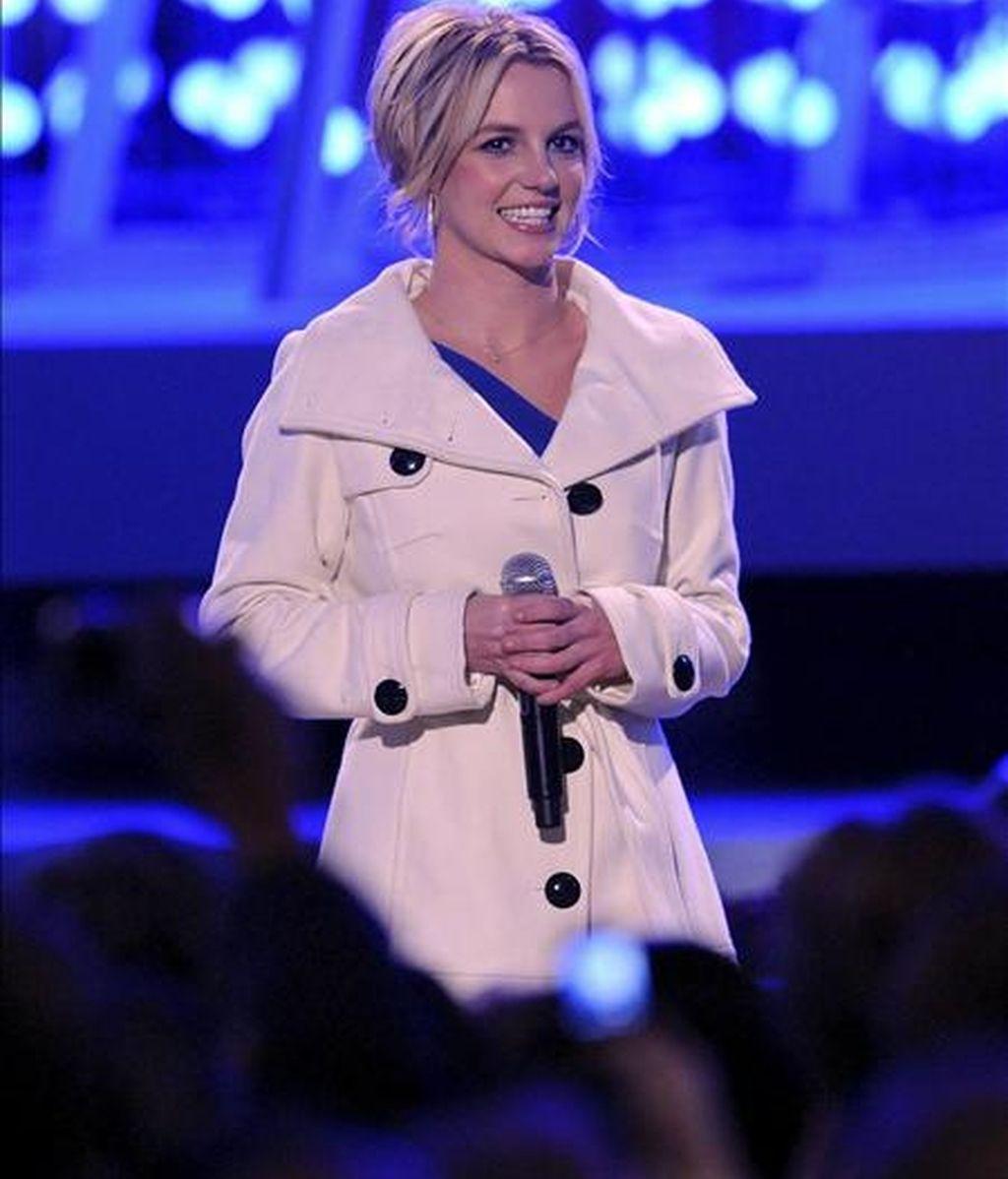 La cantante estadounidense Britney Spears. EFE/Archivo