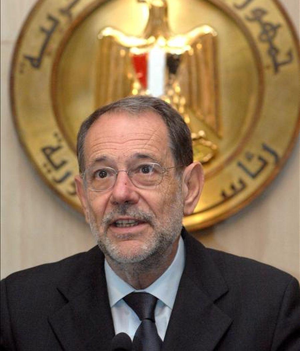 El alto representante de Política Exterior y Seguridad Común de la Unión Europea (UE), Javier Solana. EFE/Archivo