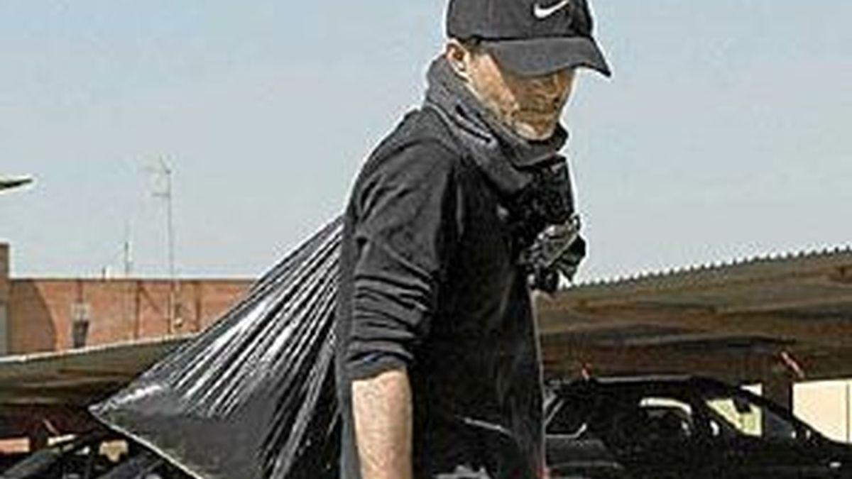 Javier Delgado sale de la cárcel. Foto: EFE