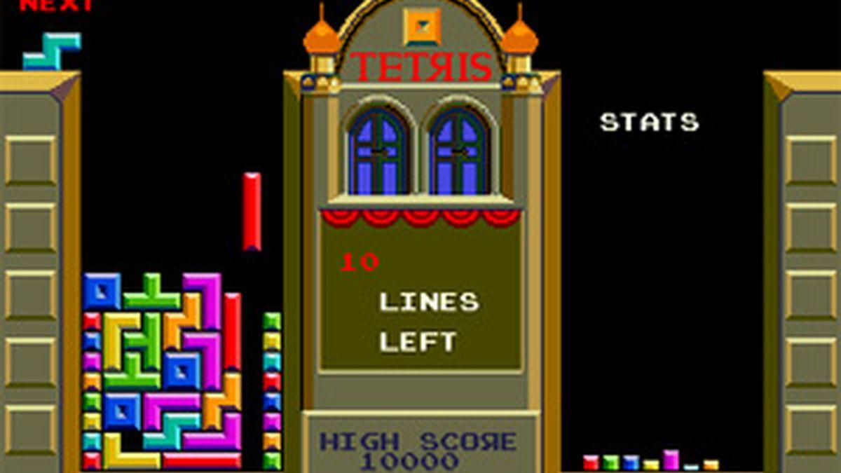 Imagen del Tetris en una de sus versiones.