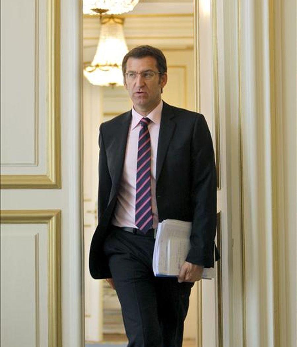 El presidente de la Xunta, Alberto Núñez Feijóo. EFE/Archivo