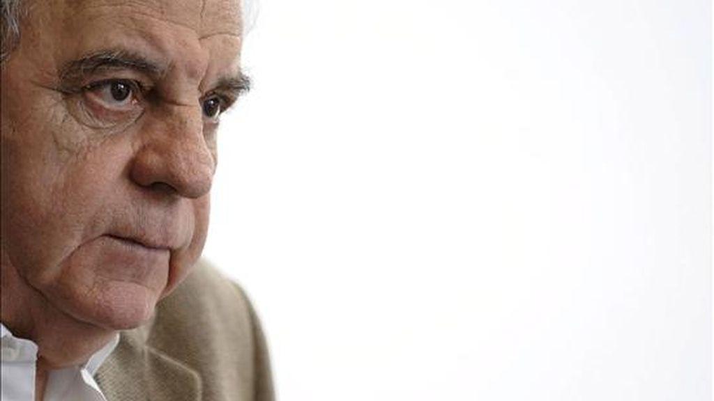 El escritor Juan Marsé, premio Cervantes 2008, analiza las claves de la literatura actual en una entrevista con Efe realizada con motivo de haber obtenido el premio internacional Fundación Cristóbal Gabarrón de las Letras, que recoge hoy en Valladolid. EFE