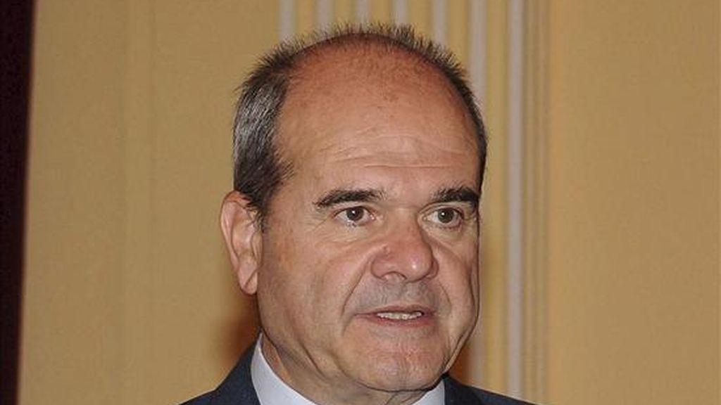 El ex presidente de la Junta de Andalucía, Manuel Chaves. EFE/Archivo