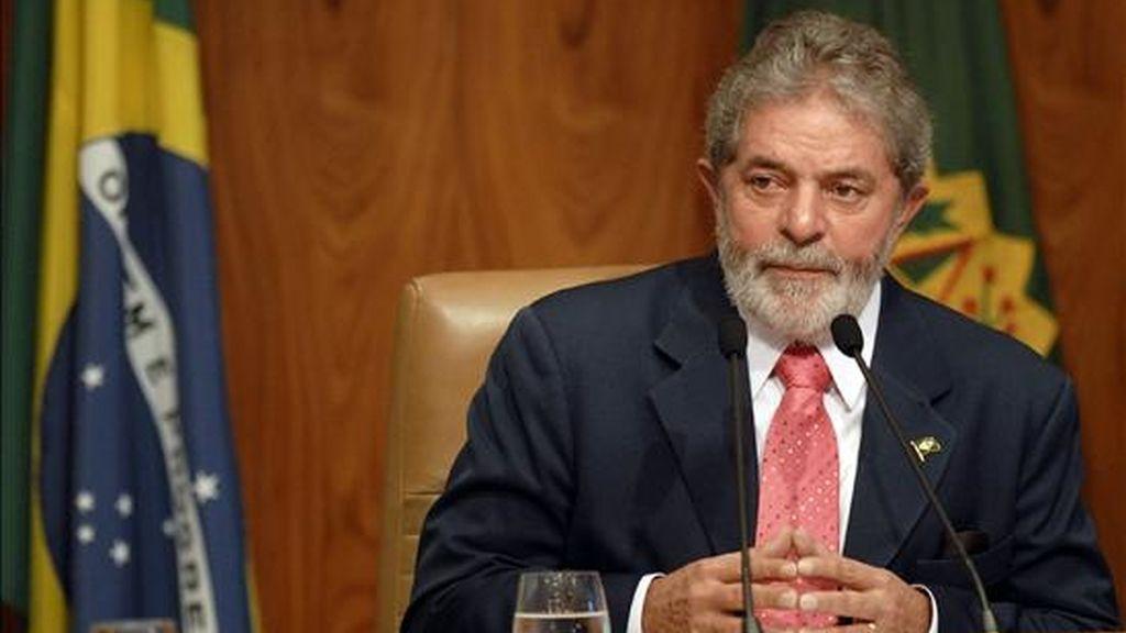 El presidente afirmó que deja el Gobierno satisfecho igualmente porque consiguió probar que cualquier brasileño, incluso un trabajador de origen pobre y sin educación superior, puede gobernar Brasil. EFE/Archivo