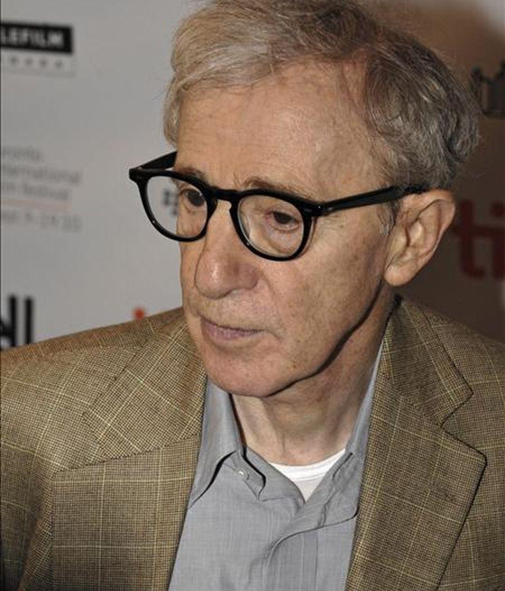 El director estadounidense Woody Allen. EFE/Archivo